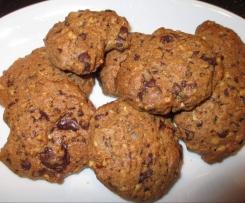 Schokoladen - Hupferl / Cookies / Haselnuss