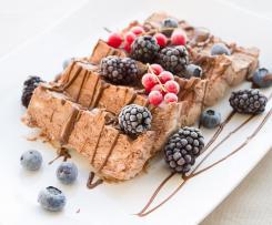 Protein-Eis mit Kokosmilch (vegan/Sportler)