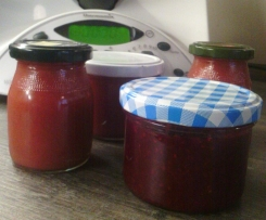 Himbeer-Johannisbeer-Marmelade