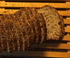 Variation von Low carb Brot
