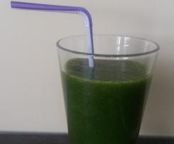 Grüner Smoothie - gesund und lecker!