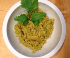 Hummus mit Ingwer und Koriander