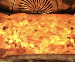 Variation Ofenpfannkuchen mit Äpfeln
