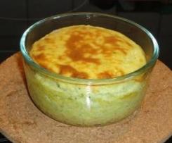 Zucchini-Ziegenkäse-Soufflé