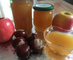 Apfelgelee mit Vanille