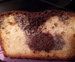 Variation von Mohn-Joghurt-Kuchen (super saftig)