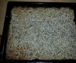 ganz einfacher Nussblechkuchen