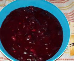Cranberry Kompott
