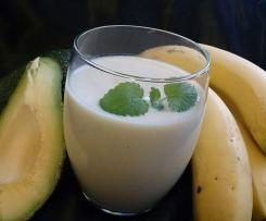Bananen-Avocado-Shake
