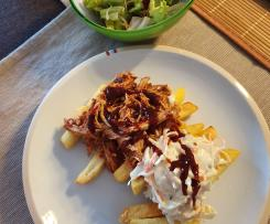 Falsches pulled chicken