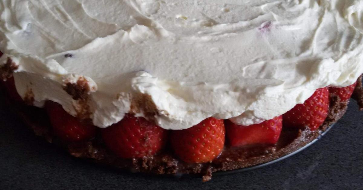 Nutellakuchen Mit Erdbeeren Ohne Backen Von Schaafmama86 Ein
