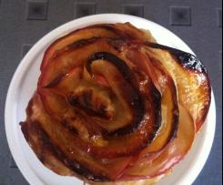 Apfel - Muffins (Apfelmuffin) im Rose-Look EINFACH