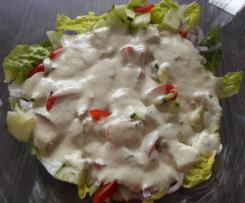 Salatsoße auf Vorrat / von Mutti :)