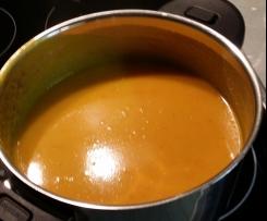 Scharfe Kürbissuppe