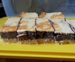 Mohnkuchen mit Schmand vom Blech