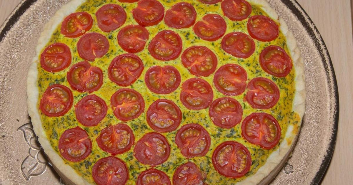 tomatenquiche vegan von vivimed ein thermomix rezept aus der kategorie hauptgerichte mit. Black Bedroom Furniture Sets. Home Design Ideas
