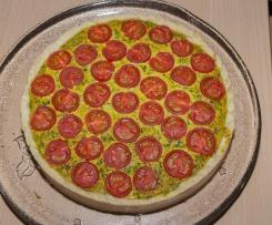 Tomatenquiche (vegan)