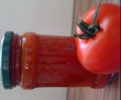Tomatensoße auf Vorrat für Pizza, Nudeln und als Grundsoße
