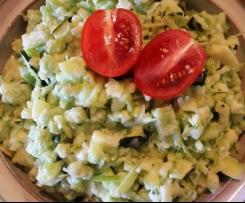 Sellerie-Zucchini-Salat