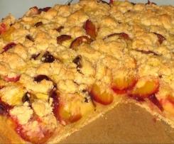 Amaretto - Pflaumen - Kuchen