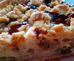 Stachelbeer-Mandel-Kuchen