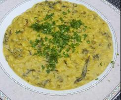 Mangold-Safran-Risotto