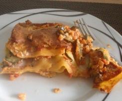 Gemüse - Lasagne, vegan, glutenfrei
