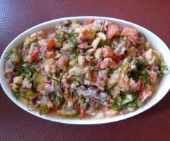 Sommerlicher Matjessalat