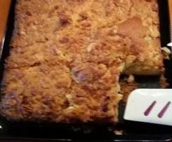 Mandel-Blechkuchen