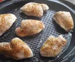 Putenbrustfilet mit Kartoffeln und Möhren/Paprika