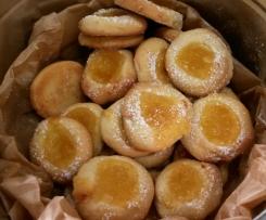 Sommergrüße (Zitronentaler mit Lemon Curd)