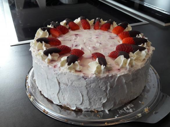 Erdbeer Mascarpone Torte Von Pam85 Ein Thermomix Rezept Aus Der