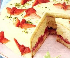 Erdbeer-Traum mit Pudding