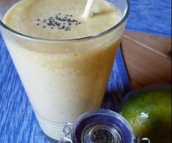 Mango-Orangen Smoothie mit Chia