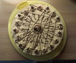 Baileys-Sahne Torte mit Nussboden
