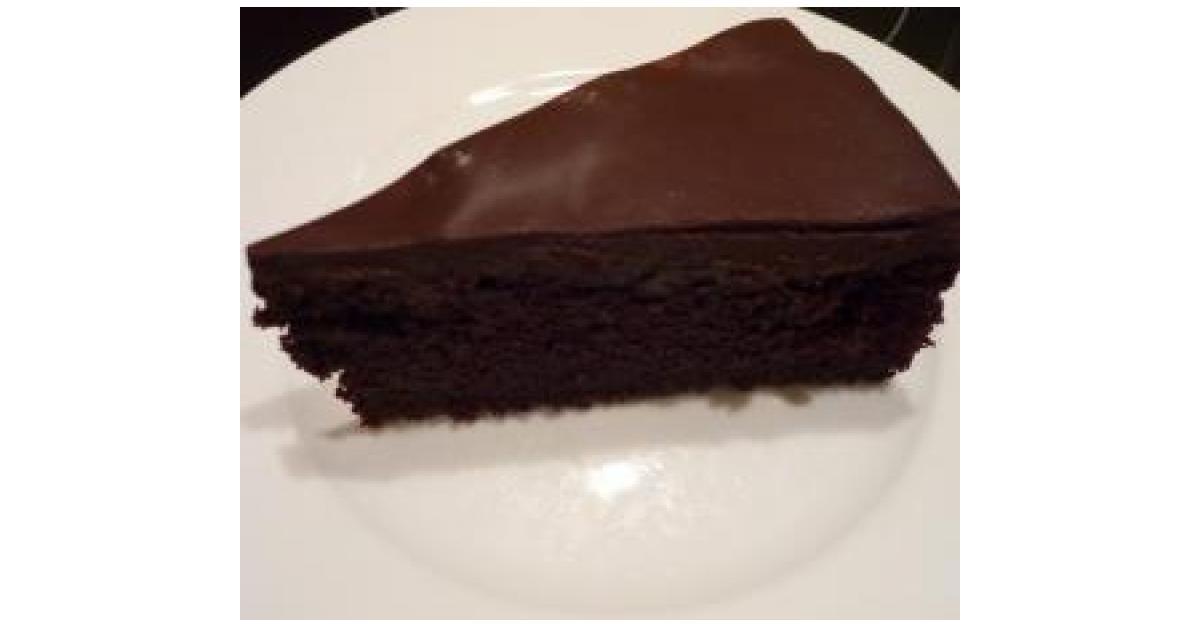 Schokoladenkuchen rote bete