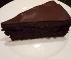 Rote-Bete-Schokoladenkuchen (Brownie-Kuchen)