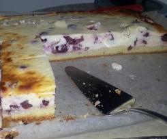 Quark-Kirsch-Blechkuchen