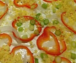 Flammkuchen vegetarisch