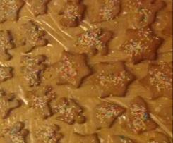 Pfefferkuchenplätzchen