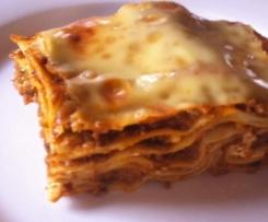 Lasagne al Forno - saulecker!