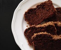 Schokoladiger Nusskuchen mit Möhren