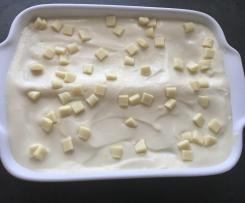 Lemon-Cheesecake-Tiramisu mit Butterkeksen (ohne Gelatine)