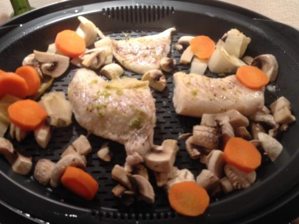 Superfood Asia Fisch Mit Gemüse Reis Chilisauce Nach Jamie
