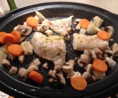 Superfood-Asia-Fisch mit Gemüse, Reis & Chilisauce - nach Jamie Oliver