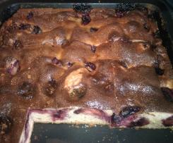Pflaumen-Schmand-Kuchen