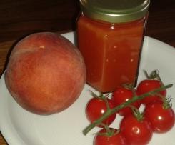 Tomaten-Pfirsich-Chutney