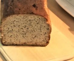 Roggen-Dinkel-Brot mit Leinsamen