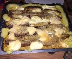 Sauerkraut mit Kartoffelbrei und Nürnberger Rostbratwürsten (aus der MIXX 1/2016)