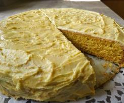 Orange Olive Oil Cake / Orangen-Kuchen mit Olivenöl